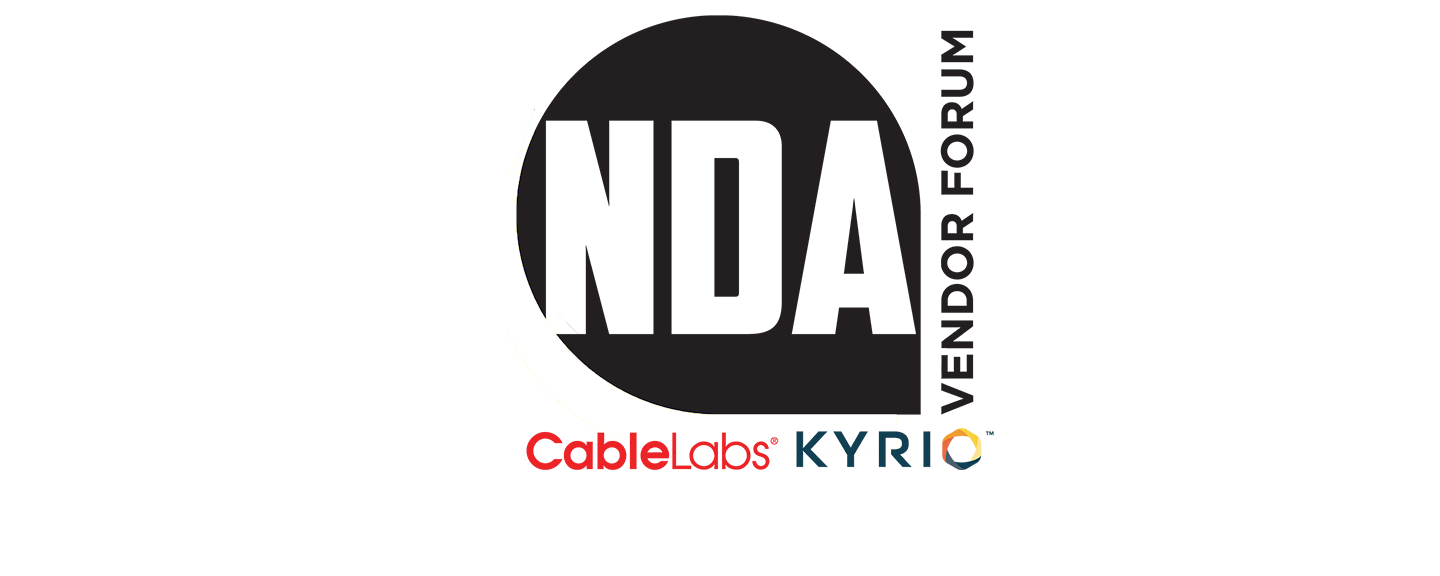 NDA Vendor Forum – sold out