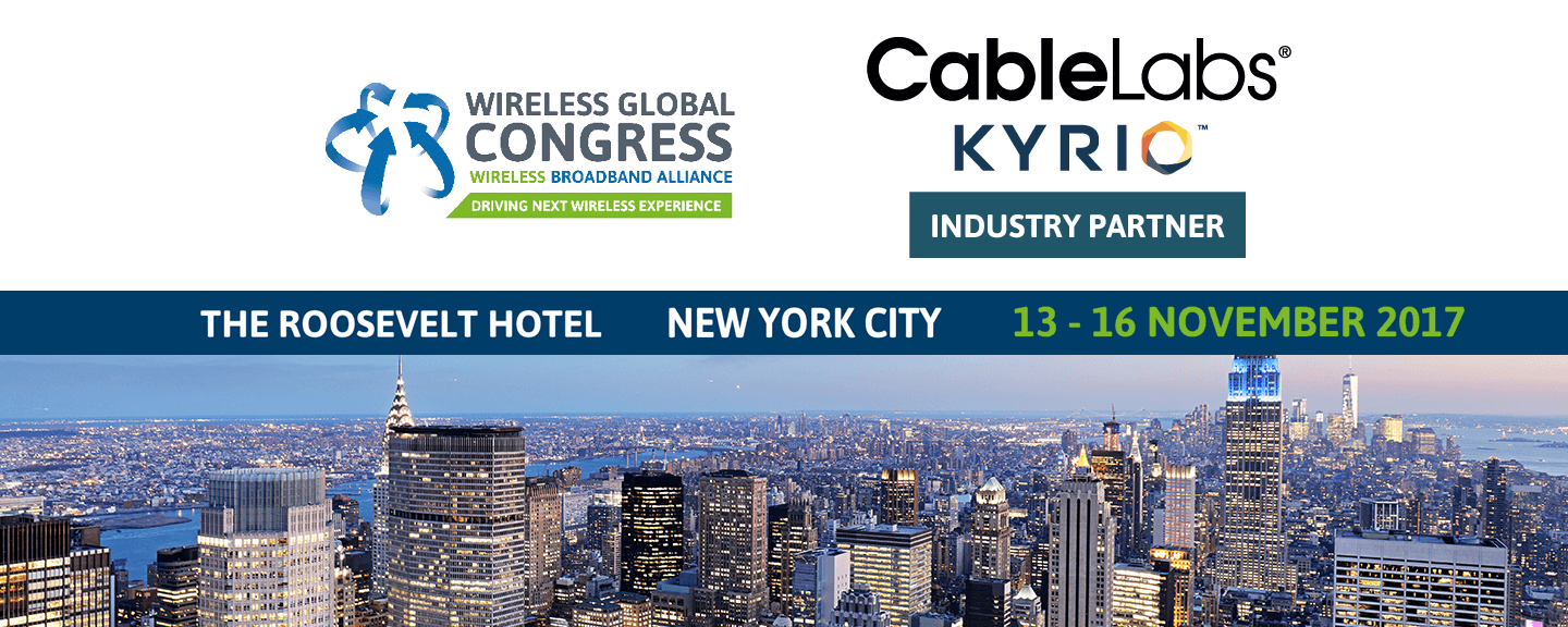 Wireless Global Congress NYC 2017