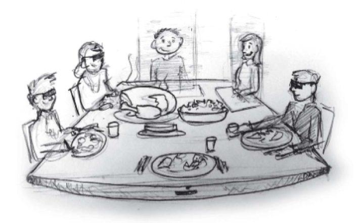 Emerging Technology Timeline: Virtual Family Dinner
