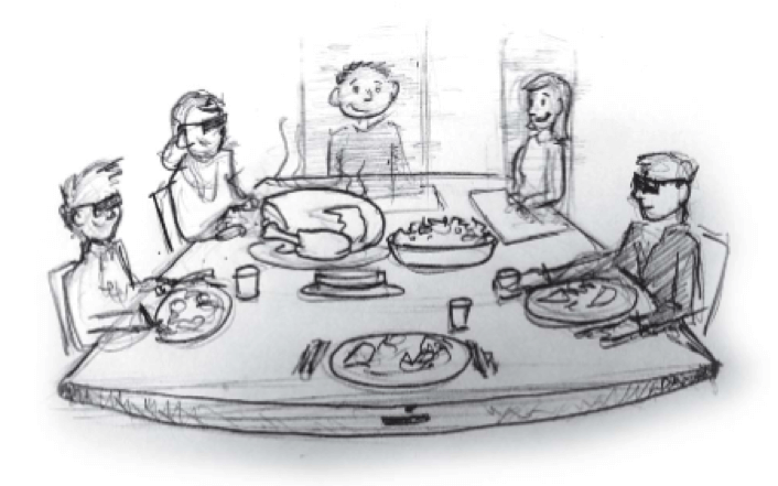 Emerging Technology Timeline: Virtual Family Dinner