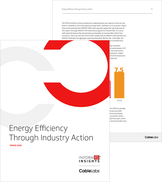 Energy Efficiency Through Industry Action