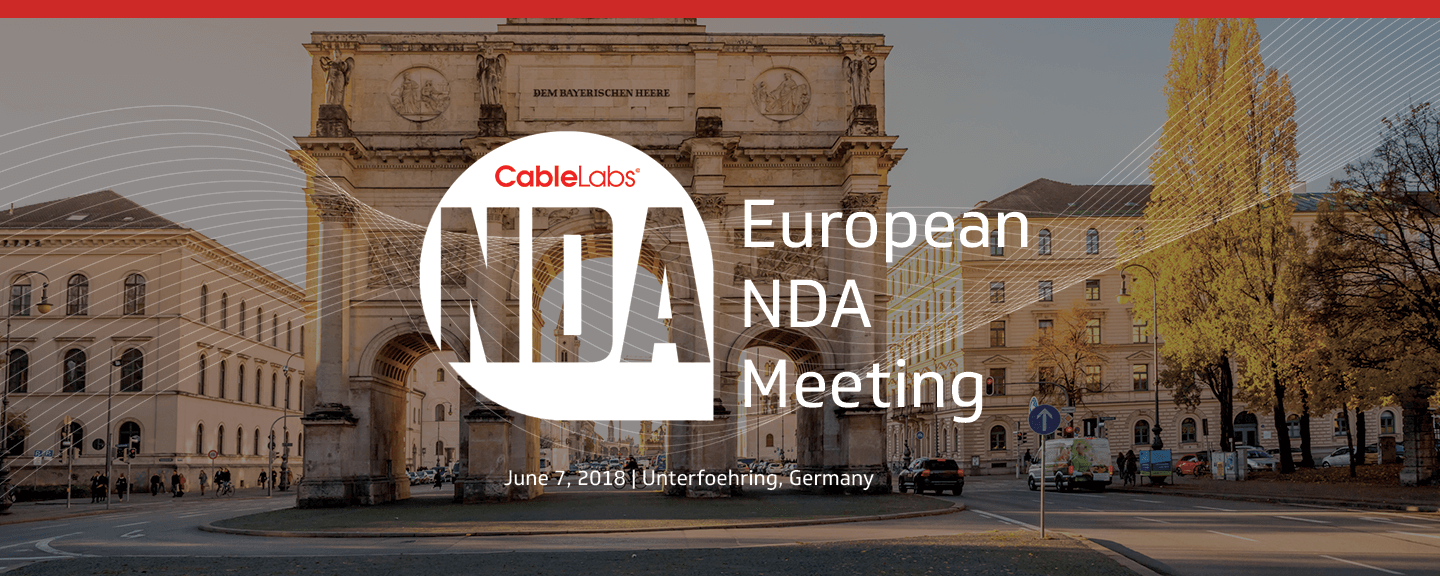 European NDA Meeting June 2018