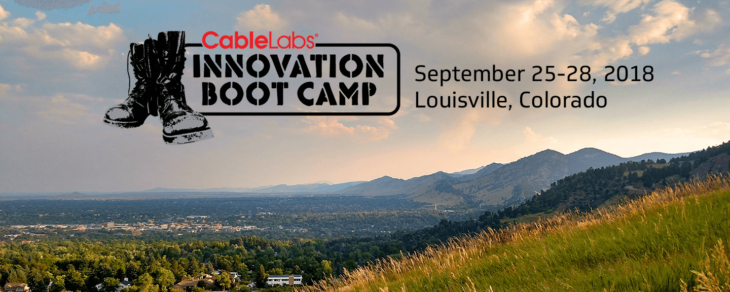 sports shoes 94b7e d2c31 Innovation Boot Camp September 2018 - CableLabs