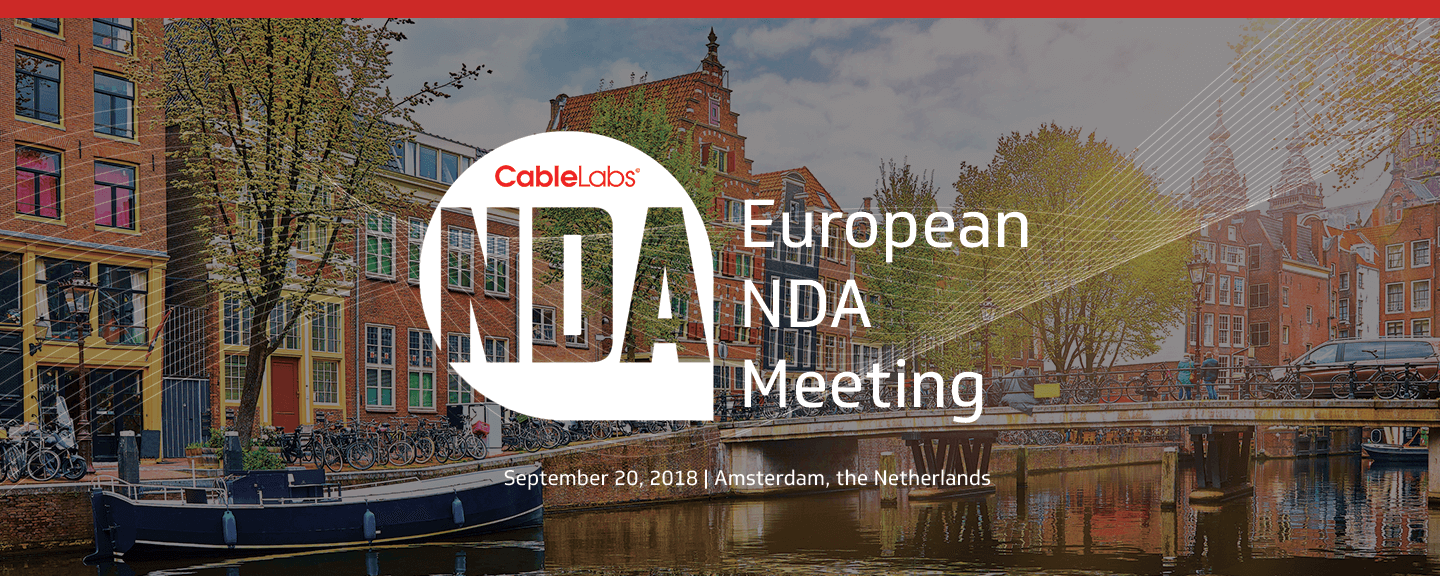 European NDA Meeting September 2018