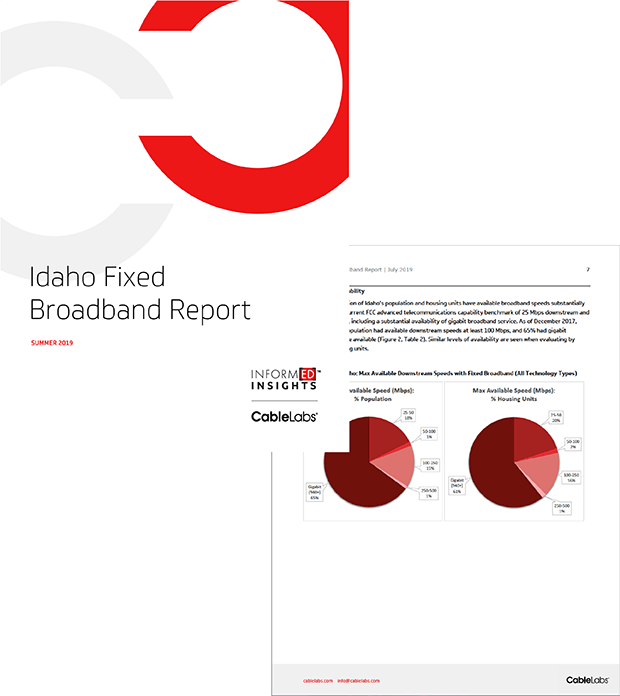 Idaho Fixed Broadband Report