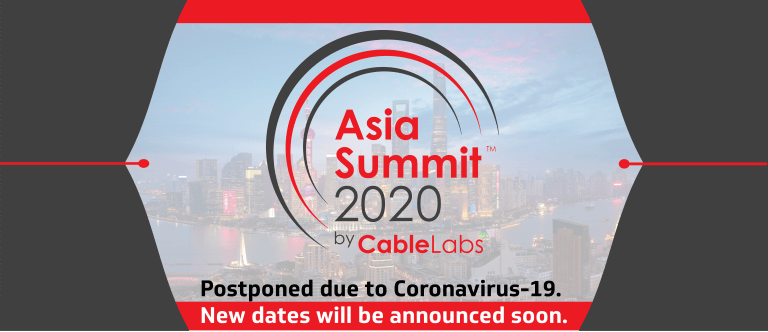Event Image for 'CableLabs Asia Summit 2020'